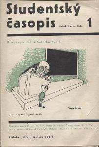 Studentský časopis, ročník XV., čísla 1 - 10/1935 a 193