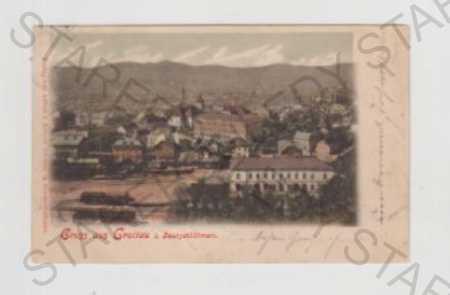 Liberec, Hrádek nad Nisou, Loučná (Grottau), nádra