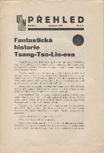 Přehled, ročník I., číslo 2/1927 (Ústřední Legio - na