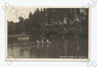 Lázně Velichovky Náchod lesní jezírko Bromografia