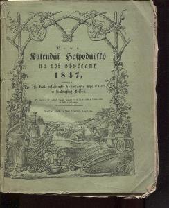 Nový kalendář hospodářský na obyčejný rok 1847
