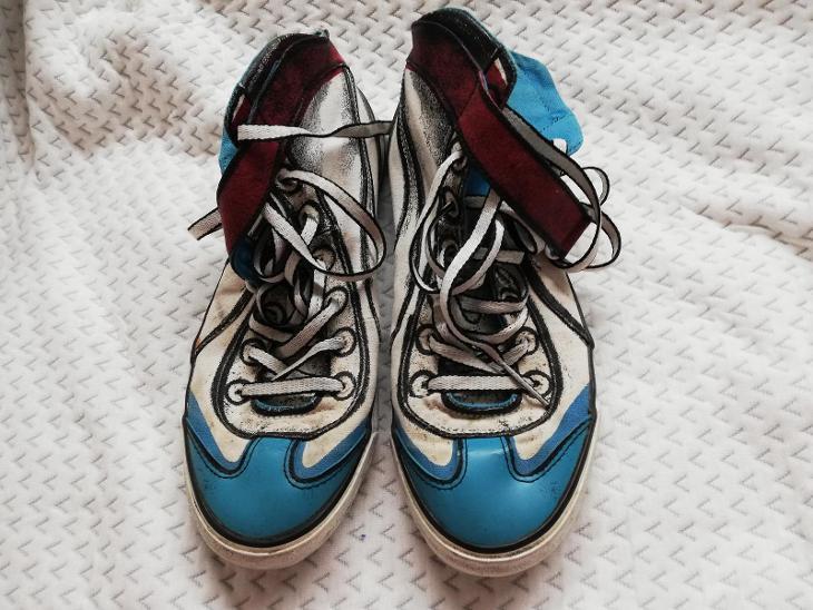 BAREVNÉ BOTY  PUMA 38 - Dámské boty