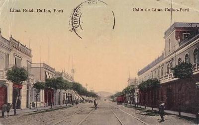 PERU - CALAO - ULICE LIMA ROAD - 4-EW40