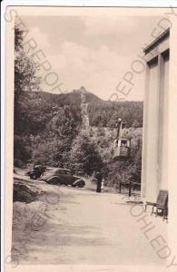 Ještěd (Liberec), lanovka na Ještěd, automobily