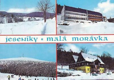 JESENÍKY - MALÁ MORÁVKA - OKÉNKOVÁ -14-BY67