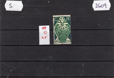 Francie ražené známky Mi  189 keramika