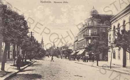 Hodonín - Hessova třída / Göding - Pohlednice