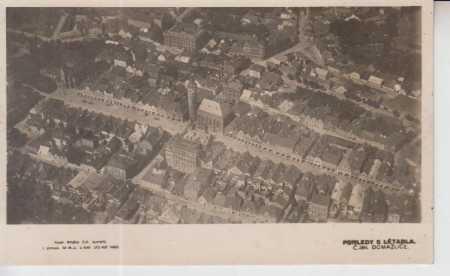 Domažlice, celkový pohled na město