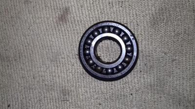 Naklápěcí dvouřadé kuličkové ložisko 17x40x12mm 1203 vůle O.k.