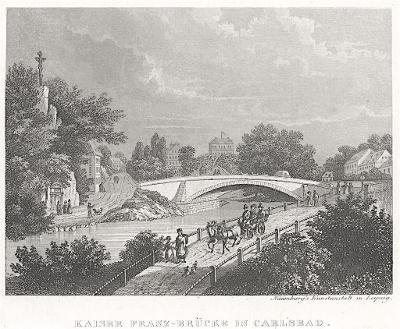 Karlovy Vary, Naumburg, oceloryt (1850)