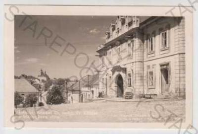 Plánice, Klatovy, Šumava, náměstí, Masarykova ulic