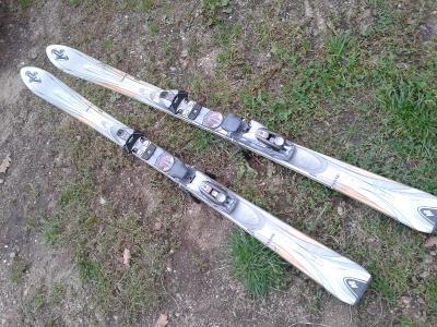 lyže s vázáním  K2  160cm- VIZ FOTO