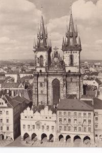Praha-Staroměstské náměstí-Týnský chrám -VF