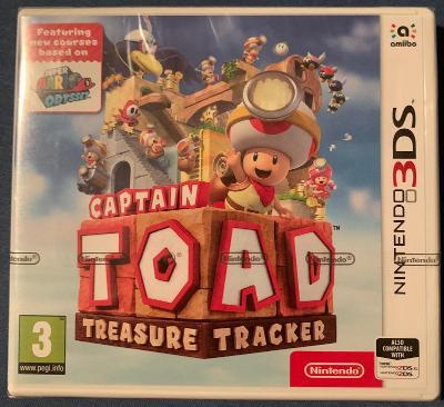 Captain Toad Treasure Tracker Nintendo 3DS PAL nové