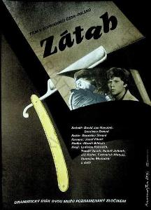 Zátah Dimitrij Kadrnožka film plakát A3  Strnad