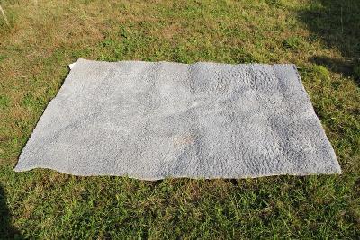 chlupatý koberec předložka šedý IKEA rozměr 196 x 135 cm