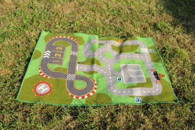 dětský  koberec předložka silnice rozměr 131 x 89 cm