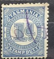 Britské kolonie Australie Tasmánie sada 4 známek