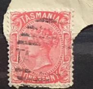 Anglie Britské kolonie Australie Tasmanie sada