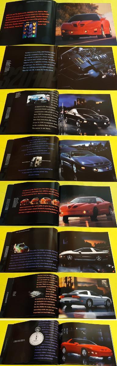 --- Pontiac Firebird (2000) -------------------------------------- USA - Motoristická literatura