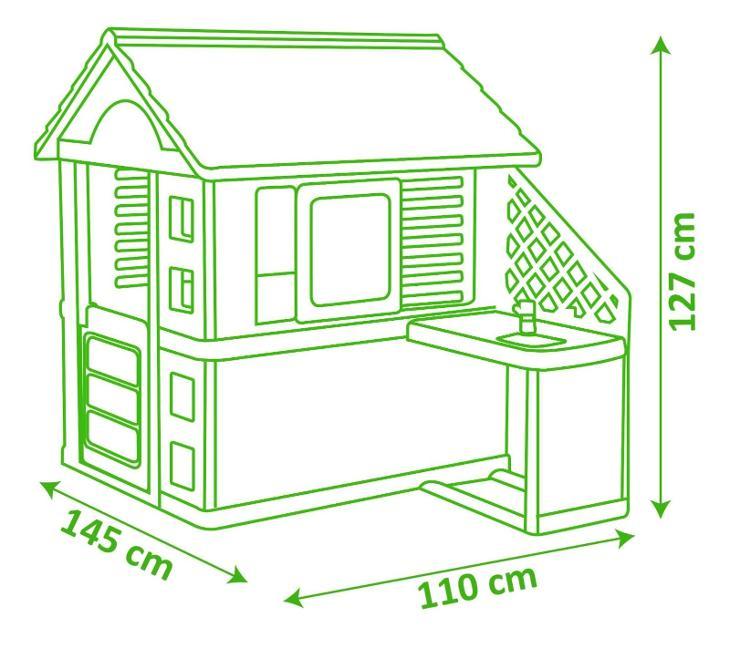 Smoby domeček pro děti (49236954) _D310 - Výstavní kus - Hračky