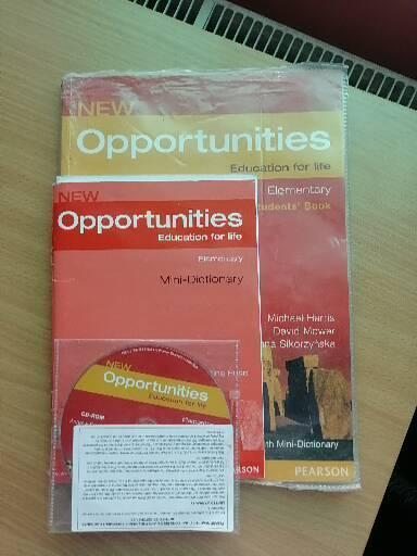 New Opportunities Elementary Students Book+CD a Slovník
