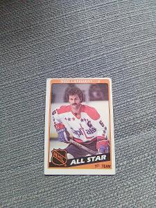 Hokejová karta hráče Rod Langway