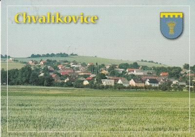 Chvalíkovice - Opava - Erb - letecký
