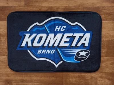 Koupelnová předložka HC KOMETA BRNO 60x40cm-PARDUBICE,SLAVIA,SPARTA