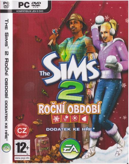 PC hra Sims2 - rozšíření Roční období, od 1 Kč ! - Hry