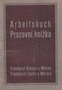 Pracovní knížka Blatná, 1924 Dělnice