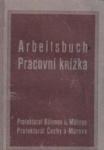 Pracovní knížka Budapešť, 1914 Cukrovar