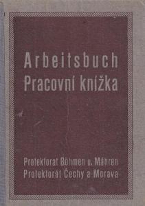 Pracovní knížka Písek, 1926 Banka