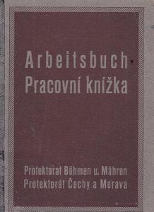 Pracovní knížka Pelhřimov, 1908 Nevyučen