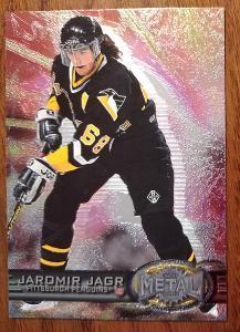 Jagr Jaromír ,  96-97 METAL UNIVERSE # 127