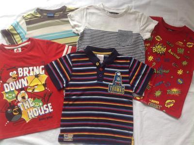 Setík triček, 3-4 r