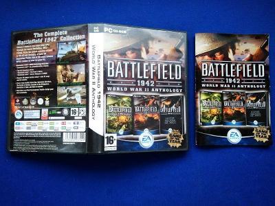PC - BATTLEFIELD 1942 WORLD WAR II ANTHOLOGY - komplet (retro 2002)Top