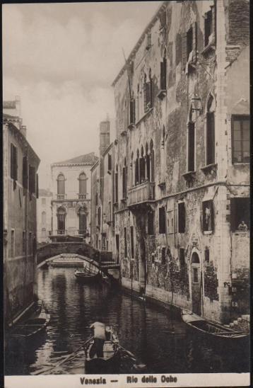 27A1848 Itálie Benátky / Venezia, Rio delle Oche