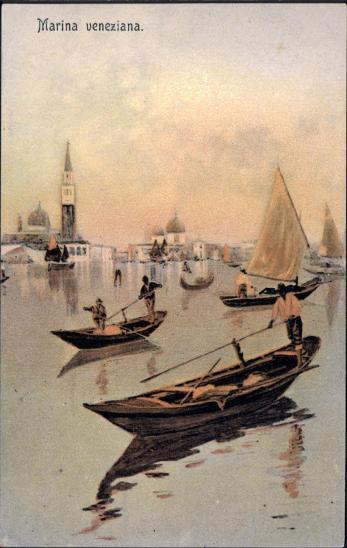 27A1874  Itálie Venezia / Benátky