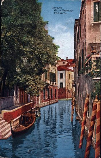 27A1877 Itálie Benátky / Venezia Rio e Palazzo Van Alex