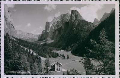 27A1940 Itálie Val Gardena - lyžařské středisko