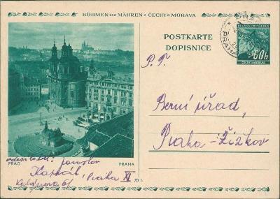 12B909 Celina Berní úřad Praha , přítisk