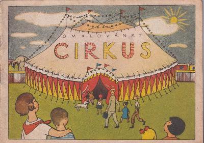 Omalovánky Cirkus, Orbis Praha