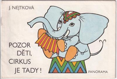 Omalovánky Pozor děti, cirkus je tady!, Praha