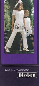 Leták pletené zboží Diolen