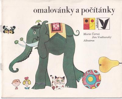 Omalovánky a počítánky, Albatros Praha