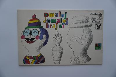 Omalovánky Omaluj, domaluj, Albatros Praha