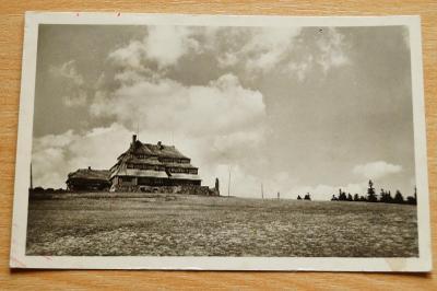 Orlické hory Masarykova chata na Šerlichu