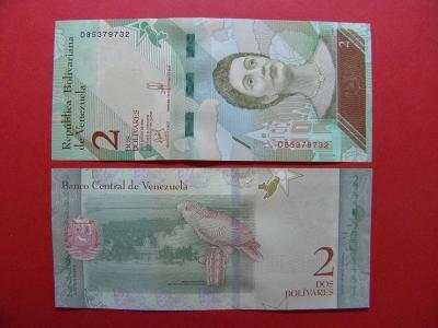 2 Bolivares 15.1.2018 Venezuela - P101 - UNC -  /X105/
