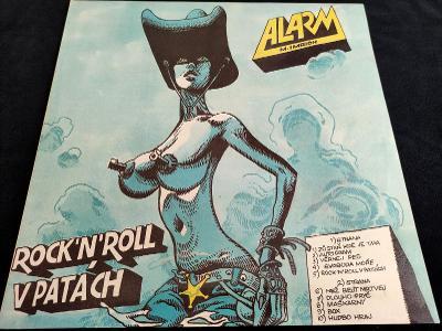 Alarm (M. Imrich) - Rock 'n' roll v patách, (cover Saudek) 1990